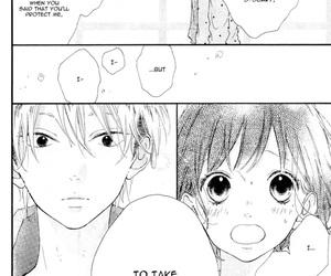 girl, guy, and manga image