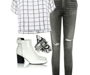 fashion, gray, and cute image