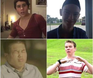 will poulter, the maze runner, and ki hong lee image
