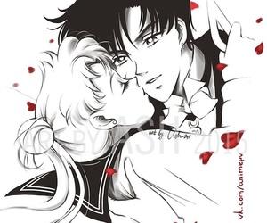 anime, anime girl, and anime couple image