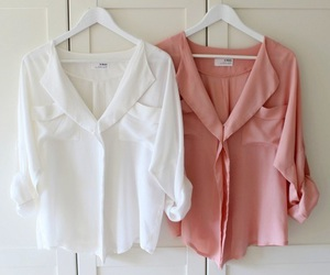 fashion, white, and pink image