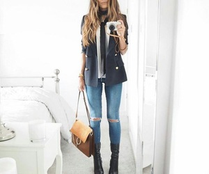 chic, clothes, and cool image