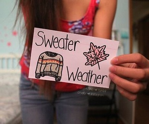 tumblr, sweater, and weather image