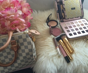 beauty, cosmetics, and pink image