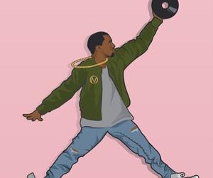boy, kanye, and rap image