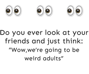 Adult, quote, and friends image
