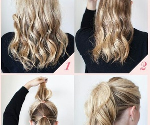 blonde hair, Easy, and fashion image