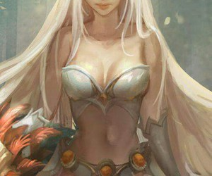 beautiful, league of legends, and elf image
