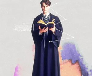 harry potter, tom riddle, and 톰리들 image