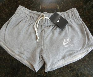 nike, sports, and grey shorts image