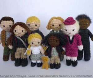 doll, thg, and katniss image