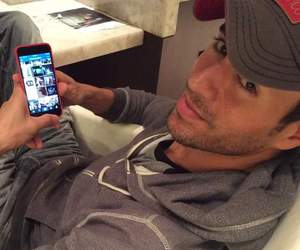 enrique iglesias and cute image
