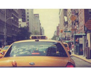 taxi, city, and new image