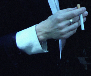 aesthetic, fingers, and cigarette image