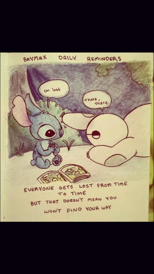 baymax and stitch discovered by sonne on we heart it