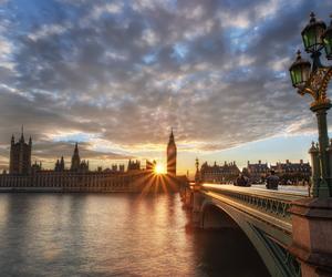 london, photography, and bridge image
