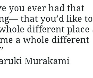 haruki murakami, poem, and quote image