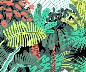 plants, illustration, and wallpaper image