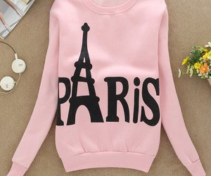 paris, pink, and sweater image