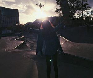grunge, skate, and skate park image