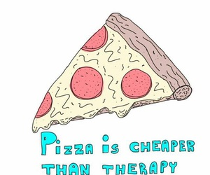 indie, pizza, and bae image