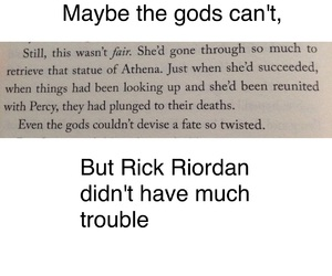 percy jackson, hoo, and rick riordan image