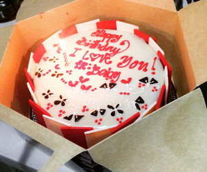 cakes, love, and red image