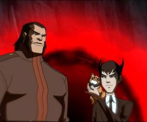 boy, dark, and dc comics image