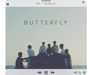 bts, butterfly, and bangtan image