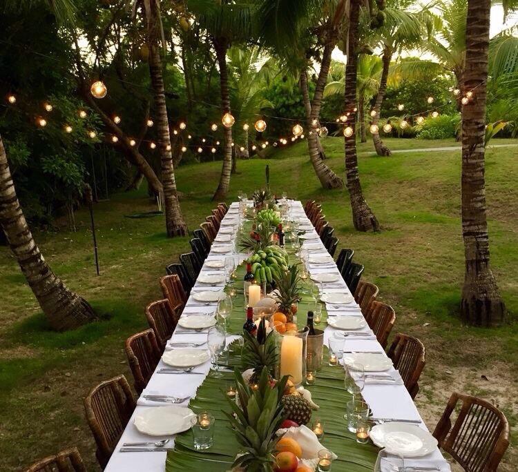 dinner, lantern, and lights image