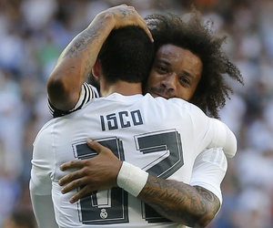 real madrid, marcélo, and isco image