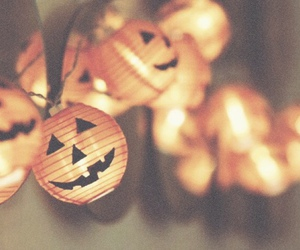 Halloween, lights, and october image