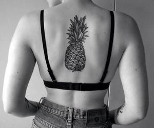 tattoo and pineapple image