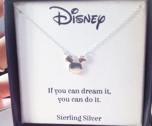 disney, Dream, and quote image
