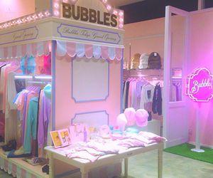 bubbles, osaka, and japanese image