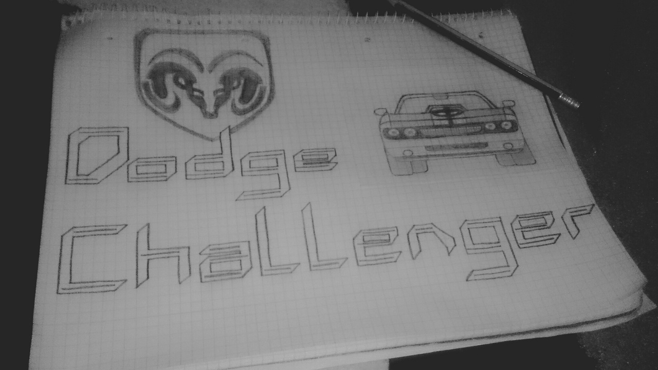 car, Challenger, and dodge image
