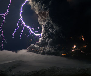 lightning, photography, and storm image