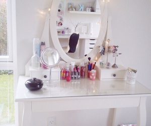 bedroom, cool, and white image