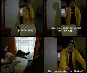 breaking bad, funny, and weed image