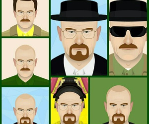 breaking bad, bryan cranston, and walter white image