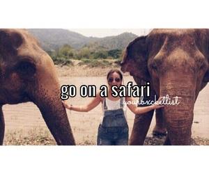 bucket, elephants, and girl image