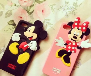 mickey, minnie, and case image