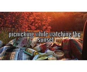 bucket, couple, and eating image