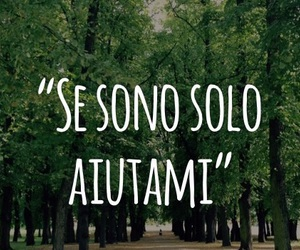 alone, amici, and frasi image