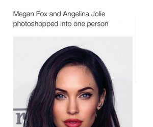 megan fox, Angelina Jolie, and beautiful image