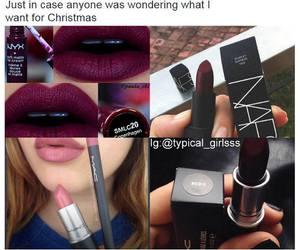 christmas and lipstick image