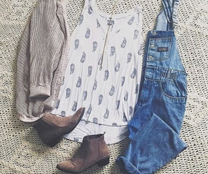 style, blue, and boots image