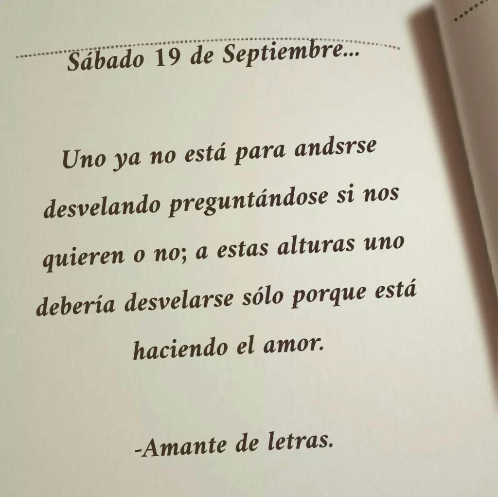 Sabado 19 De Septiembre Uploaded By Sindy On We Heart It