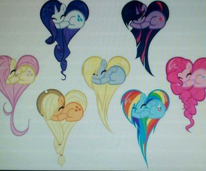 my little pony, fluttershy, and rainbow dash image