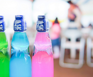 drink, blue, and green image